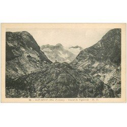 carte postale ancienne 65 GAVARNIE. Glacier de Vignemale