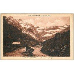 carte postale ancienne 65 GAVARNIE. Le Chemin du Cirque