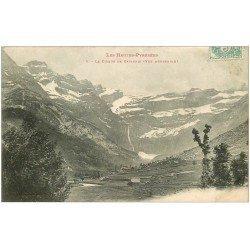 carte postale ancienne 65 GAVARNIE. Le Cirque 1905