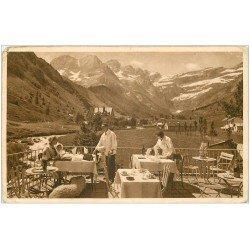 carte postale ancienne 65 GAVARNIE. Restaurant du Point de vue de la Cascade