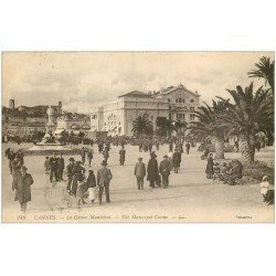 carte postale ancienne 06 CANNES. Casino Municipal 1924