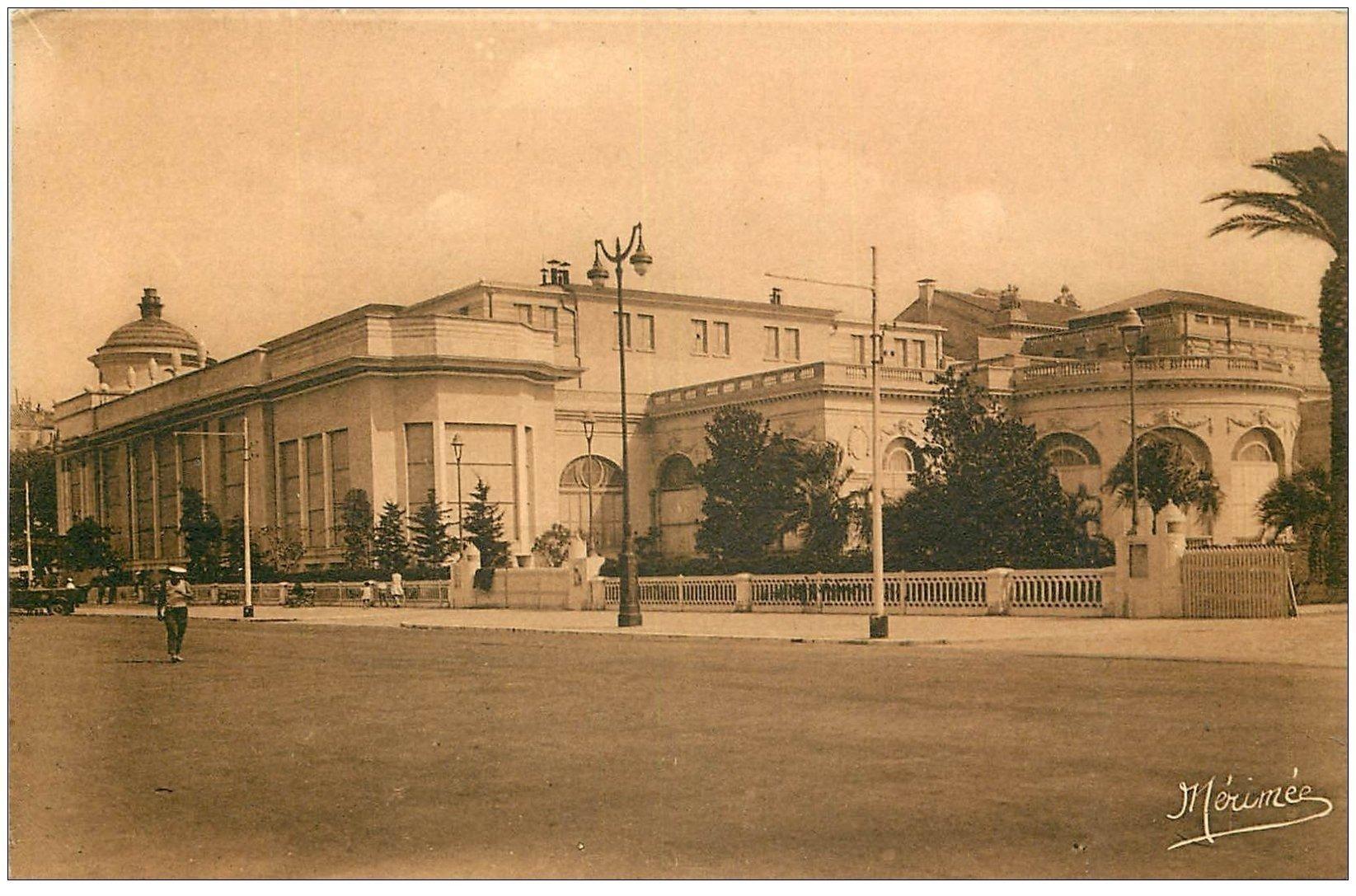carte postale ancienne 06 CANNES. Casino Municipal. Mérimée