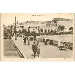 carte postale ancienne 06 CANNES. Casino Municipal. Munier
