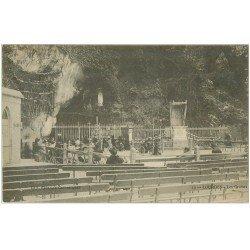 carte postale ancienne 65 LOURDES. La Grotte 1905 n° 14