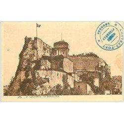 carte postale ancienne 65 LOURDES. Le Château-Fort n°91