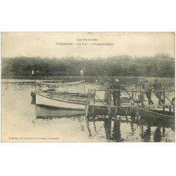carte postale ancienne 65 LOURDES. Le Lac et son Embarcadère 1921