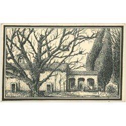 carte postale ancienne 06 CANNES. Ermitage de Saint-Cassien 1932 par Guy (timbre manquant)...
