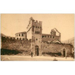 carte postale ancienne 65 LUZ-SAINT-SAUVEUR. Eglise des Templiers 140
