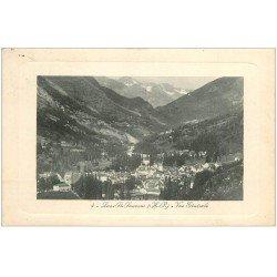 carte postale ancienne 65 LUZ-SAINT-SAUVEUR. Vue générale 1928
