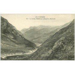 carte postale ancienne 65 OSSON. Vallée et Massif du Marboré