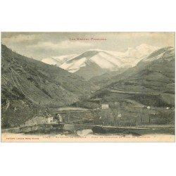 carte postale ancienne 65 PONT DE NEIGE DE LUGAGNAN ET FOND DU MONTAIGU