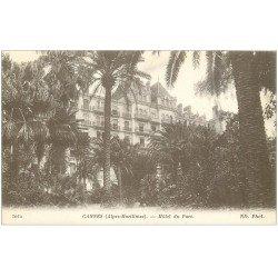carte postale ancienne 06 CANNES. Grand Hôtel du Parc 1012