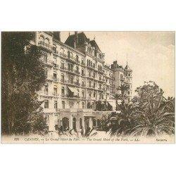 carte postale ancienne 06 CANNES. Grand Hôtel du Parc 105