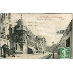 carte postale ancienne 65 TARBES. Garage Avenue Bertrand Barrère 1931