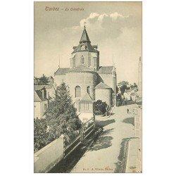 carte postale ancienne 65 TARBES. La Cathédrale