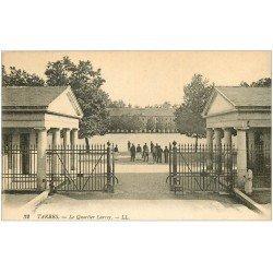 carte postale ancienne 65 TARBES. Le Quartier Larrey. Caserne Militaires