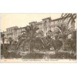 carte postale ancienne 06 CANNES. Hôtel Continental 620