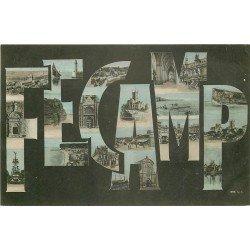 carte postale ancienne 76 FECAMP. 1905 Fantaisie