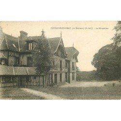 carte postale ancienne 76 FONTAINE-EN-BRAY. La Houppelière par Sommery 1925