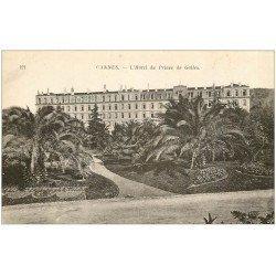 carte postale ancienne 06 CANNES. Hôtel du Prince de Galles 121