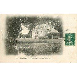 carte postale ancienne 76 CHATEAU DES HEBERTS. Yvetot 1907