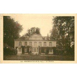 carte postale ancienne 76 GRAIMBOUVILLE. Le Château 1933