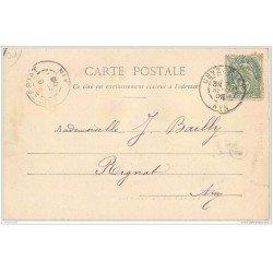 carte postale ancienne 01 SAINT-JEAN-LE-VIEUX. Château de Varey 1902