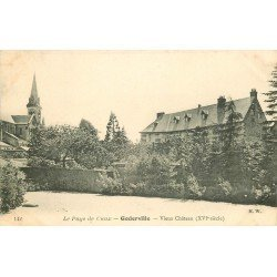 carte postale ancienne 76 GODERVILLE. Vieux Château