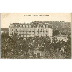 carte postale ancienne 06 CANNES. Hôtel Saint-Charles