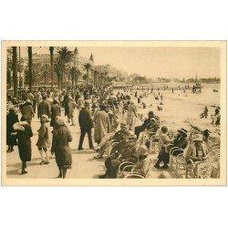 carte postale ancienne 06 CANNES. La Promenade de la Croisette 442