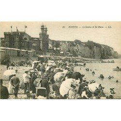 carte postale ancienne 76 DIEPPE. Casino et Bains n° 52