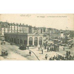 carte postale ancienne 76 DIEPPE. La Poissonnerie 1916