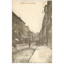 carte postale ancienne 06 CANNES. La Rue d'Antibes