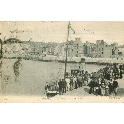carte postale ancienne 76 DIEPPE. Le Pollet 1924