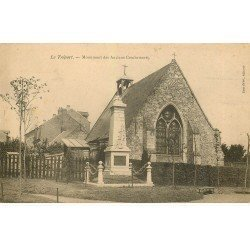 carte postale ancienne 76 LE TREPORT. Monument des Anciens Combattants
