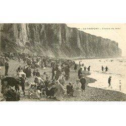 carte postale ancienne 76 LE TREPORT. L'Heure du bain