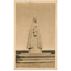 carte postale ancienne 76 ANCRETIEVILLE-SAINT-VICTOR. Statue Guerre 1947