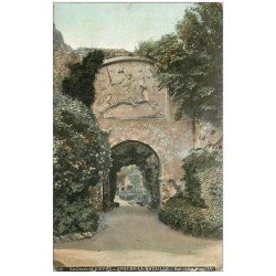 carte postale ancienne 76 ARQUES-LA-BATAILLE. Château Bas Relief 1908