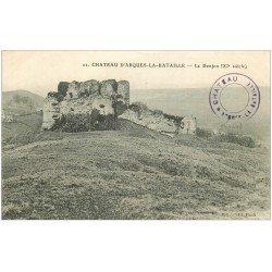 carte postale ancienne 76 ARQUES-LA-BATAILLE. Château le Donjon 22