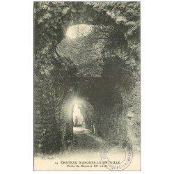 carte postale ancienne 76 ARQUES-LA-BATAILLE. Château Porte secours