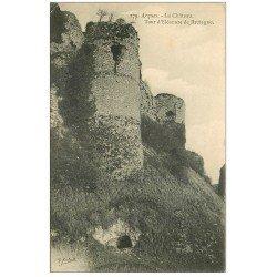 carte postale ancienne 76 ARQUES-LA-BATAILLE. Château Tour Eleonor de Bretagne