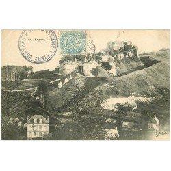 carte postale ancienne 76 ARQUES-LA-BATAILLE. Château vers 1905