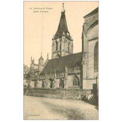 carte postale ancienne 76 ARQUES-LA-BATAILLE. Eglise 48