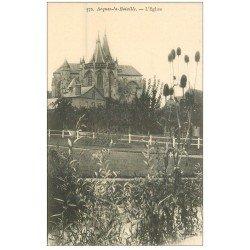 carte postale ancienne 76 ARQUES-LA-BATAILLE. Eglise 772