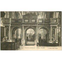 carte postale ancienne 76 ARQUES-LA-BATAILLE. Eglise le Jubé