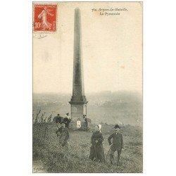 carte postale ancienne 76 ARQUES-LA-BATAILLE. La Pyramide 1909