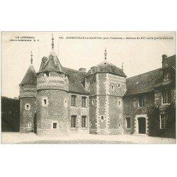 carte postale ancienne 76 AUBERVILLE-LA-MANUEL. Château