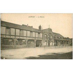 carte postale ancienne 76 AUFFAY. La Mairie 1937