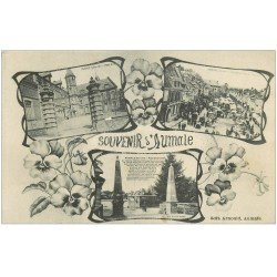 carte postale ancienne 76 AUMALE. Multivues