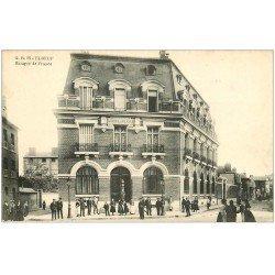 carte postale ancienne 76 ELBEUF. Banque de France